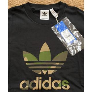 adidas - 【新品】アディダス adidas Tシャツ 半袖 カモフラージュ ブラック M
