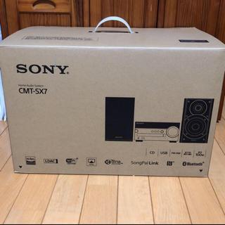ソニー(SONY)の✳︎新品✳︎ SONY CMT-SX7 コンポ(その他)