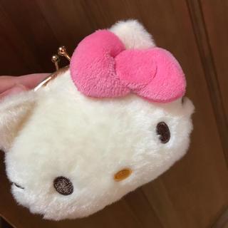 ハローキティ - キティちゃんのがまぐちポーチ♡