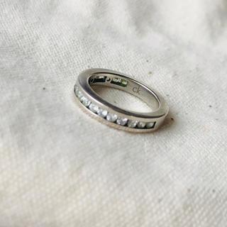 カルバンクライン(Calvin Klein)のCalvin Kleinピンキーリング4号(リング(指輪))