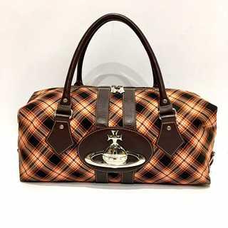 Vivienne Westwood - ヴィヴィアンウエストウッド BIG オーブ ベイカーストリート チェック バッグ