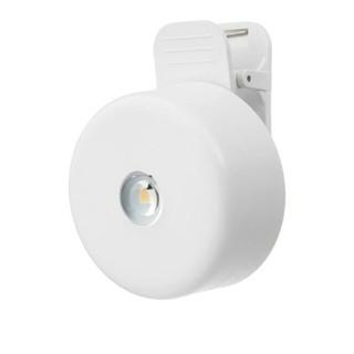 IKEA - IKEA LEDクリップ式スポットライト 電池式 ホワイト  ライト 照明