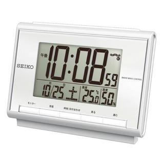 セイコー(SEIKO)の◆ 新品 未使用 SEIKO 電波 置き時計 (置時計)