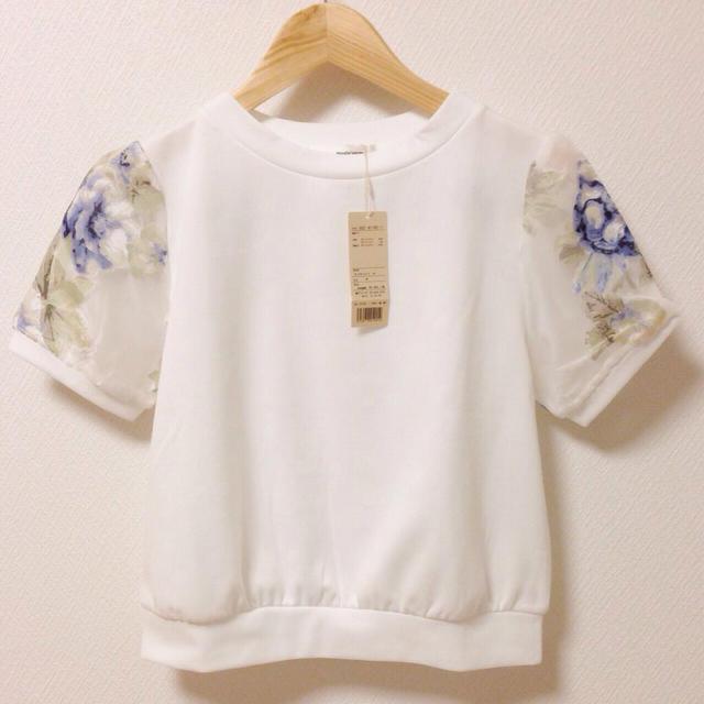 mysty woman(ミスティウーマン)のmysty woman Tシャツ レディースのトップス(Tシャツ(半袖/袖なし))の商品写真