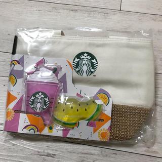 Starbucks Coffee - スターバックス スタバ 保冷バッグ 保冷トート 保冷剤