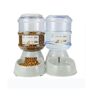 ペット用品 自動給餌器 自動給水器 3.8L 2点セット