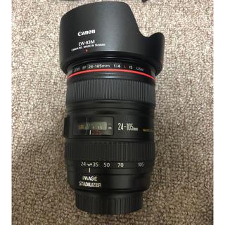 Canon - 超美品キヤノンCanon EF24-105L IS USM使用感わずかフルサイズ
