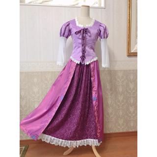 ディズニー(Disney)の❁Dハロ❁ラプンツェル風高品質衣装❁新品(その他ドレス)