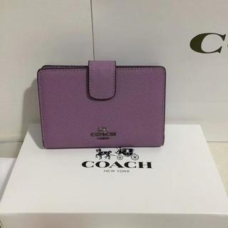 COACH - COACH  コーチ ミニ財布 定番人気 新品正規品
