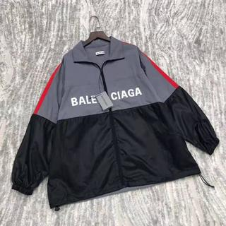 Balenciaga - バレンシアガロゴナイロントラックジャケット