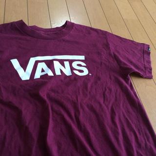 ヴァンズ(VANS)のvansロゴT(Tシャツ(半袖/袖なし))