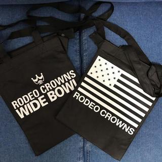 ロデオクラウンズワイドボウル(RODEO CROWNS WIDE BOWL)のRODEO CROWNS/旧縦型小ショッパー2枚SET/RCWB(ショップ袋)