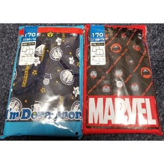 MARVEL - MARVEL マーベル スパイダーマン ドラえもん 170cm トランクス 4枚