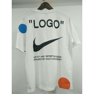 OFF-WHITE - 人気OFF-WHITE&NIKE  Tシャツ ホワイト メンズ