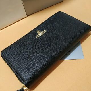 Vivienne Westwood -  ヴィヴィアンウエストウッド 長財布 ブラック 55306