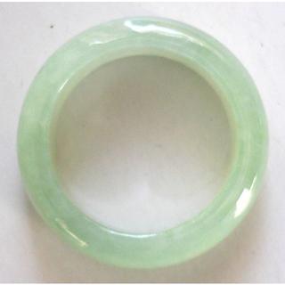 希望を叶える魔法の石 魅惑のグリーン 翡翠の指輪 11号サイズ(リング(指輪))