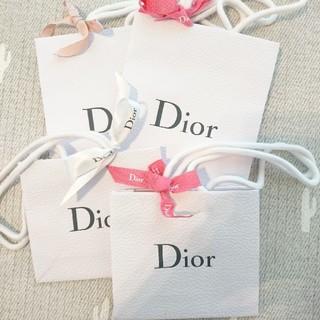 Dior - ディオール ショッパー ショップ袋 4枚 セット