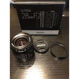 ライカ(LEICA)の【美品】フォクトレンダー Ultron 28mm F2(レンズ(単焦点))