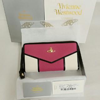 ヴィヴィアンウエストウッド(Vivienne Westwood)のヴィヴィアンウエストウッド長財布55317濃いピンク新品正規品(財布)