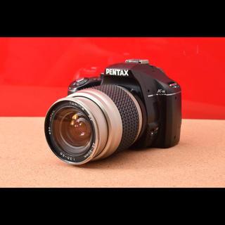 ペンタックス(PENTAX)のPENTAX ペンタックス K-m レンズキット!7-22(デジタル一眼)