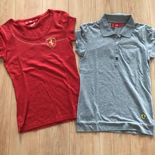 フェラーリ(Ferrari)のレディース フェラーリ Tシャツ(Tシャツ(半袖/袖なし))