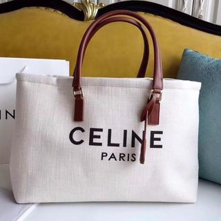 celine - CELINE セリーヌ ホリゾンタル キャバス トートバッグ