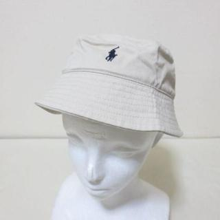 ポロラルフローレン(POLO RALPH LAUREN)の新品 ポロ ラルフローレン ベージュ 帽子 K410(帽子)