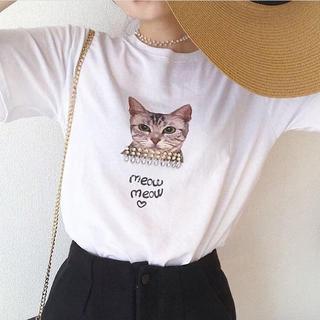 Lochie - 【予約販売】ヴィンテージキャットTシャツ