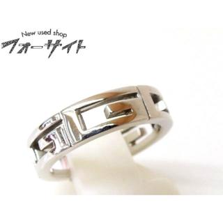 グッチ(Gucci)の#6(6) グッチ☆K18 WG マルチプル リング 指輪(リング(指輪))