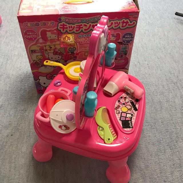 サンリオ(サンリオ)のハローキティ キッチン♡ドレッサー キッズ/ベビー/マタニティのおもちゃ(知育玩具)の商品写真