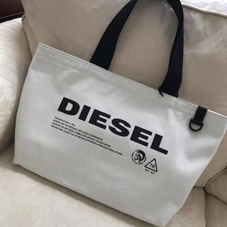 DIESEL - 洗練されたデザイン ホワイトトートバック