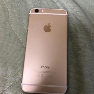 Apple - iPhone6 ゴールド 64GB docomo SiMなし