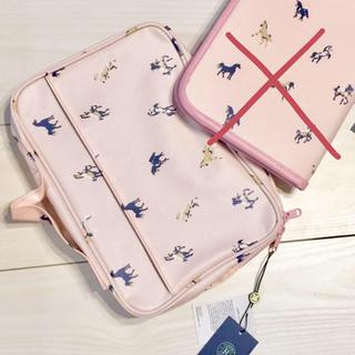 ジェラートピケ(gelato pique)の新品 russet 母子手帳ケース おむつポーチ ピンク 2点セット 出産祝い(母子手帳ケース)