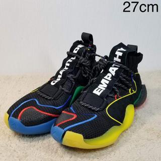 アディダス(adidas)の新品 希少 アディダス ファレル ウィリアムス CRAZY BYW 27.0(スニーカー)