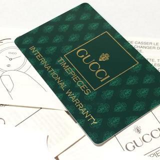 グッチ(Gucci)のグッチ GUCCI 1200L チェンジベゼル カードセット(腕時計)