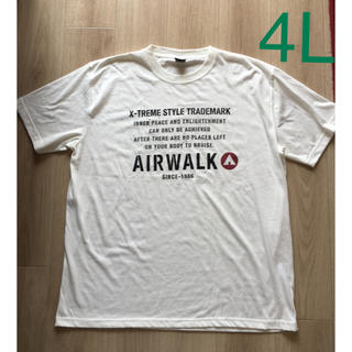AIRWALK - 新品!訳ありエアーウォークAIR WALK Tシャツ  4LTシャツ