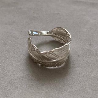 シルバー925 シンプル フェザーリング silver シルバーリング(リング(指輪))