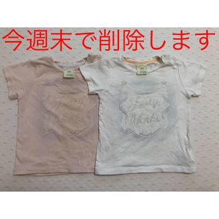 ジェラートピケ(gelato pique)のgelato pique ジェラートピケ Tシャツ 2枚セット 80-90センチ(Tシャツ)