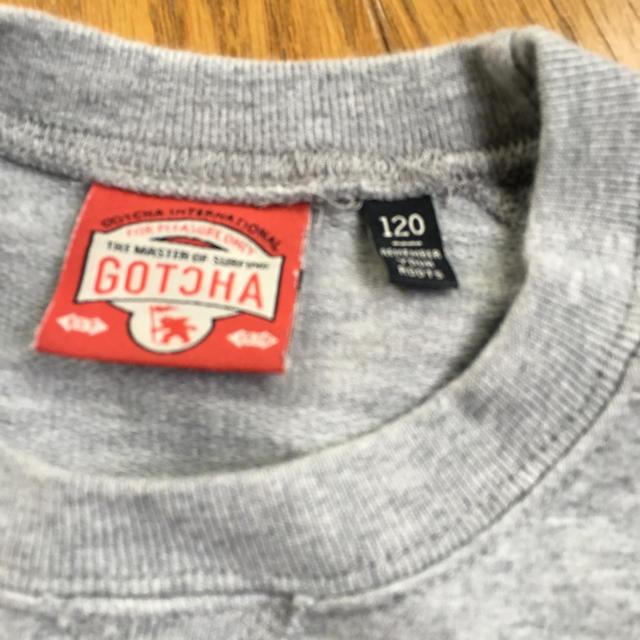 GOTCHA(ガッチャ)のGOTCHA 120cm トップス キッズ/ベビー/マタニティのキッズ服 男の子用(90cm~)(Tシャツ/カットソー)の商品写真