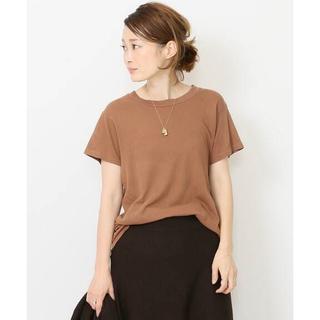 DEUXIEME CLASSE - ★未使用★THE GREAT COTTON Tシャツ◆キャメル