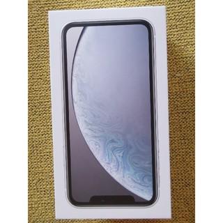 iPhone - 新品未使用 iPhoneXR64G ホワイト