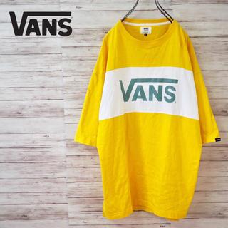 ヴァンズ(VANS)のVANS Bi-Color Panel S/S Tee(Tシャツ/カットソー(半袖/袖なし))