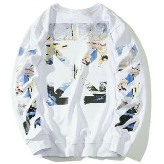 OFF-WHITE - off-white オフホワイト メンズ トップス 長袖Tシャツ ホワイト