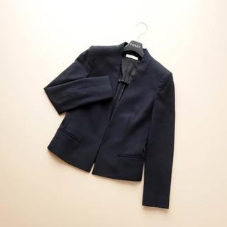 EPOCA -  ■エポカ■ 38 スミクロ 濃紺 着やせジャケット EPOCA