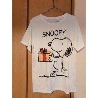 スヌーピー(SNOOPY)のスヌーピー✳︎プレゼントTシャツ(Tシャツ(半袖/袖なし))