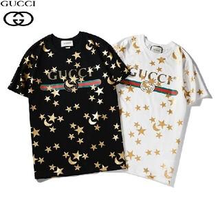 Gucci - グッチ Tシャツ メンズ半袖男女兼用 二枚セットなら6000円で送料込み