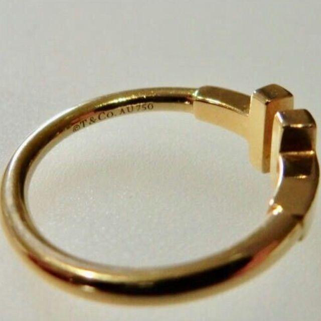 Tiffany & Co.(ティファニー)のTiffany Tワイヤーリング レディースのアクセサリー(リング(指輪))の商品写真