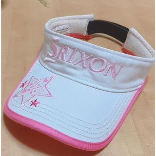 スリクソン(Srixon)の値下げ‼️スリクソン SRIXON ゴルフ サンバイザー 星アップリケ (サンバイザー)