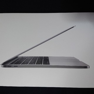マック(Mac (Apple))のMacBookPro [ 2017年/SSD 256GB] スペースグレイ(ノートPC)