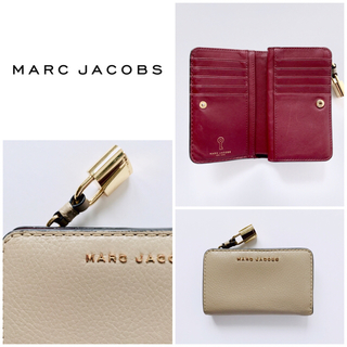 マークジェイコブス(MARC JACOBS)のMARC JACOBS マークジェイコブス 二つ折り財布 コンパクトウォレット(財布)